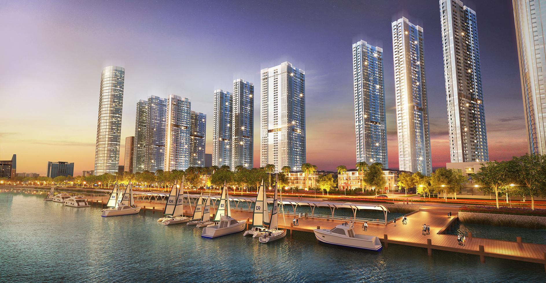 Dự án căn hộ Vinhomes Golden River siêu sang đang HOT