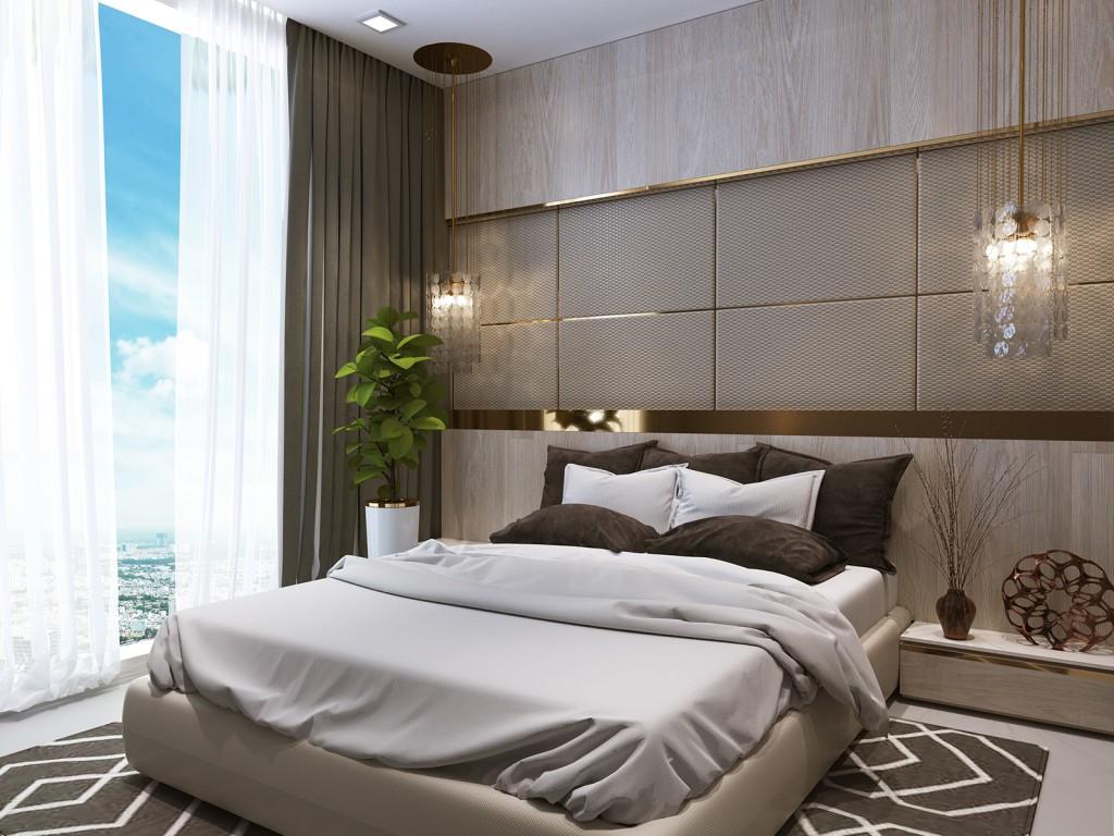 Thuê căn hộ Vinhomes central park 1 phòng ngủ