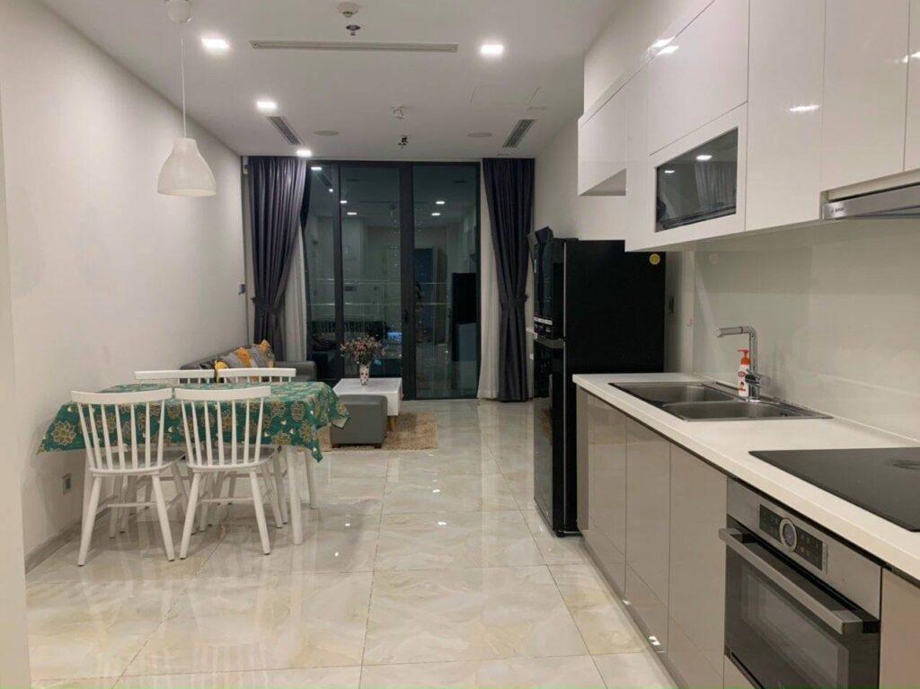 Cho thuê căn hộ 1 pn Vinhomes Bason 50m2 $500