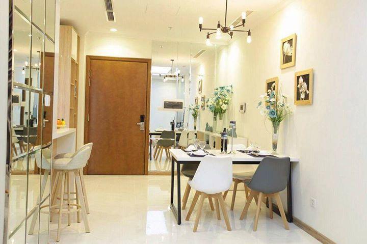 Cho thuê căn hộ Vinhomes Central Park 1 phòng ngủ giá tốt tại HCM
