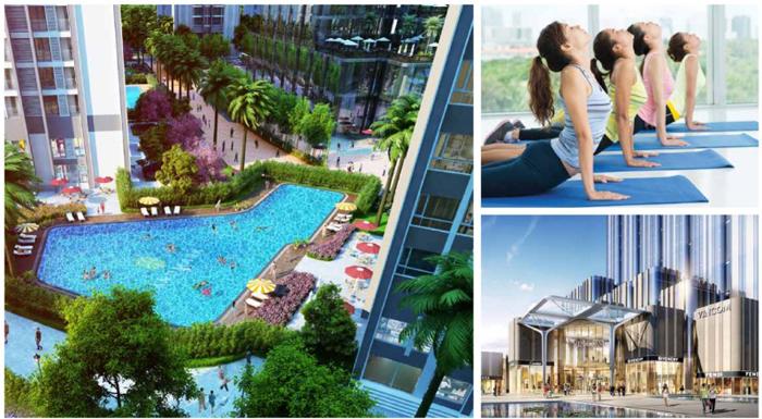 Cho thuê căn hộ Vinhomes Golden River 3 phòng ngủ