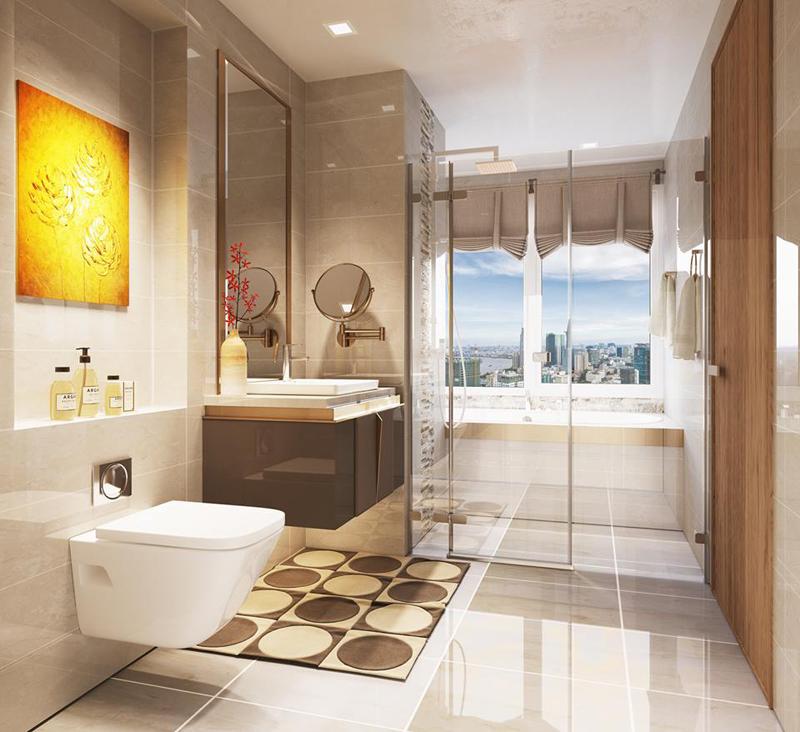 Cho thuê căn hộ Vinhomes Central Park full nội thất giá siêu rẻ