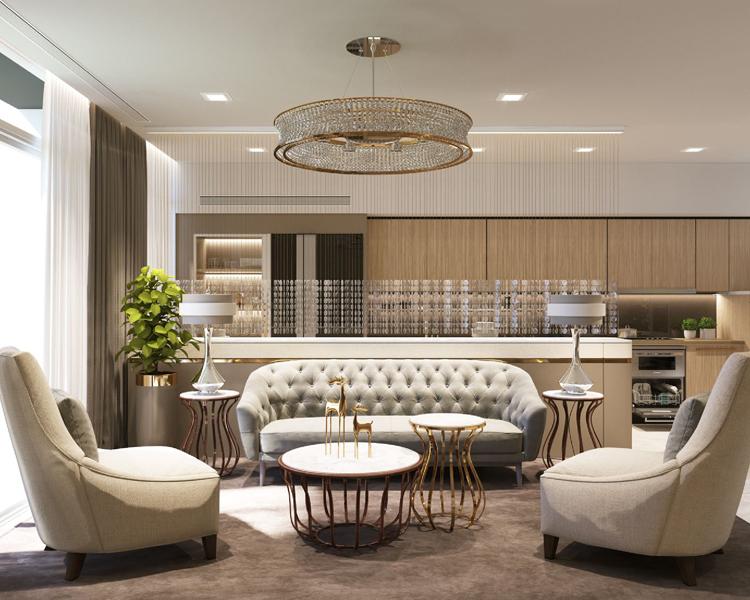 Cho thuê căn hộ Aqua 1 Vinhomes BaSon 2 phòng ngủ – nội thất sang trọng