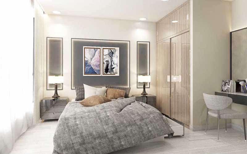 2-bedroom apartment in Vinhomes Central Park