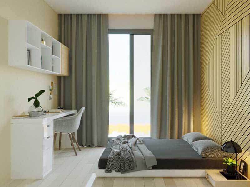 Thuê căn hộ Vinhomes Central Park 1 phòng ngủ giá tốt