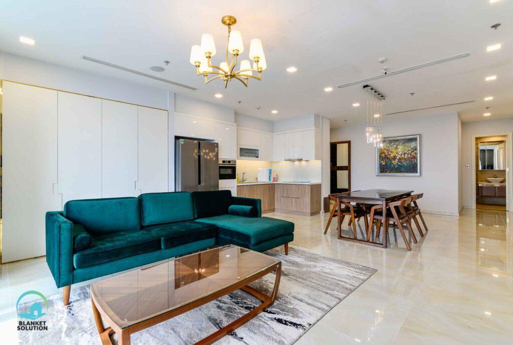 Vinhomes Central Park Tân Cảng 4 Phòng Ngủ giá thuê $1800-2200