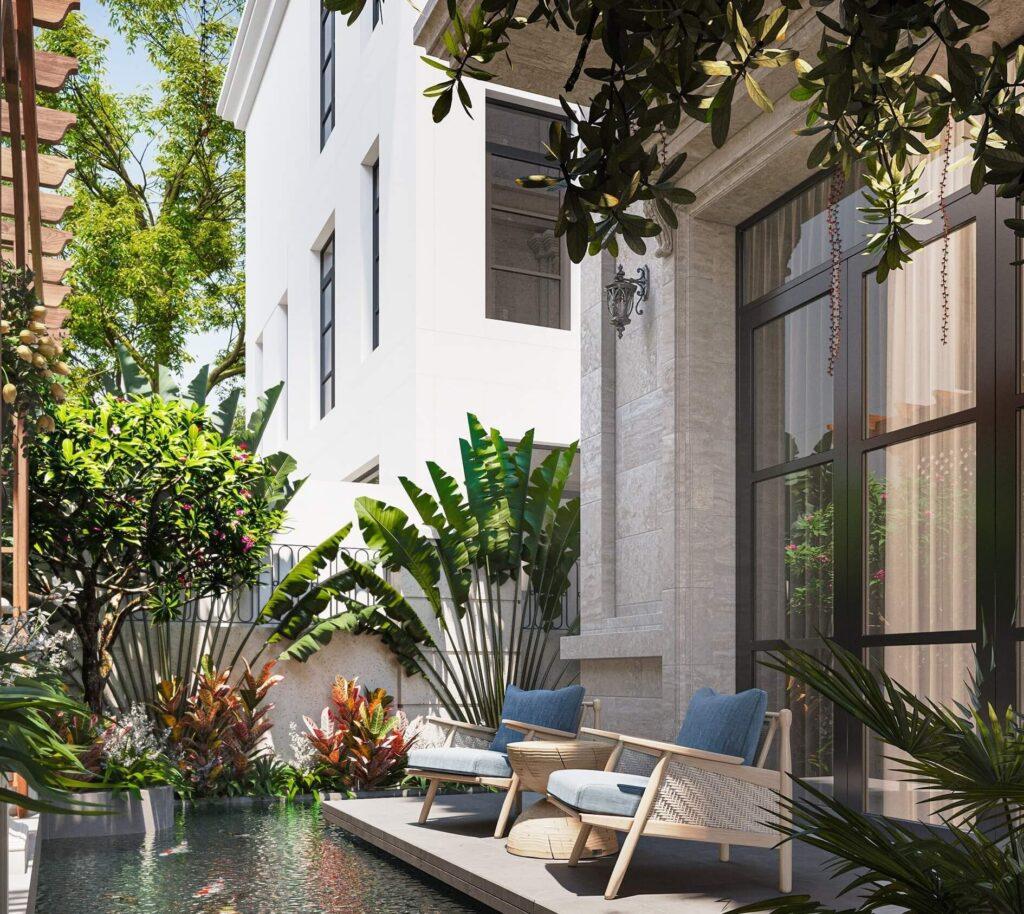 VIllas Biệt Thự Vinhomes Tân Cảng - Central Park Giá Thuê $5000-8000