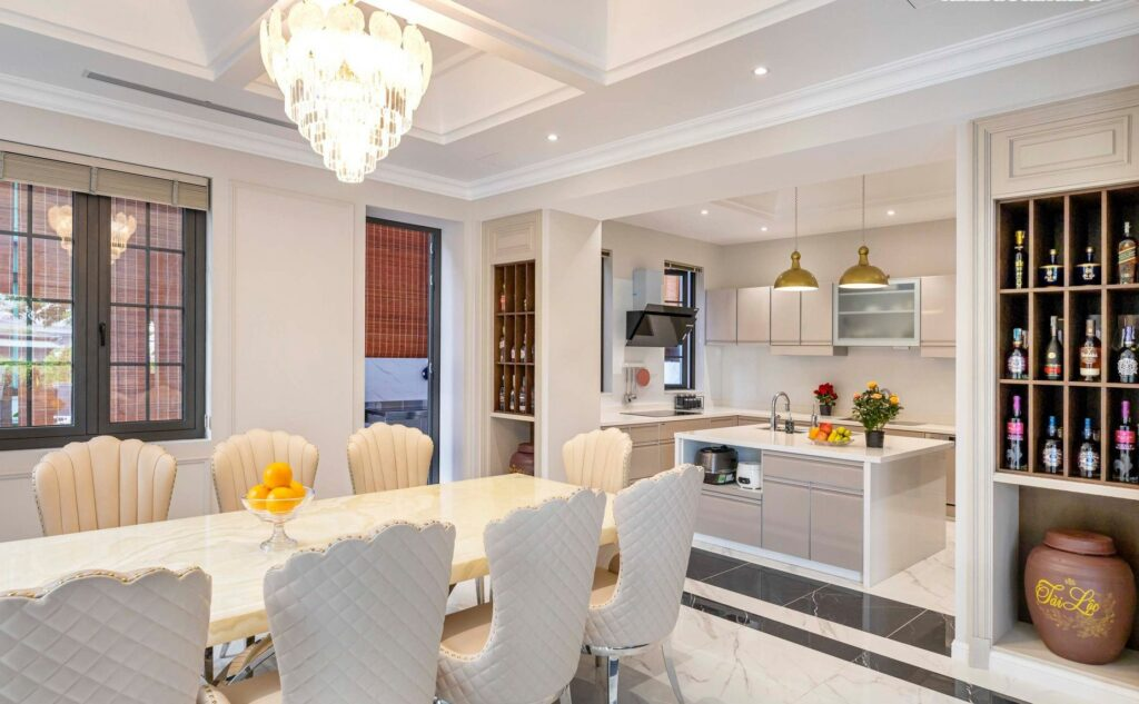 Cho thuê biệt thự villas Vinhomes Central Park Tân Cảng